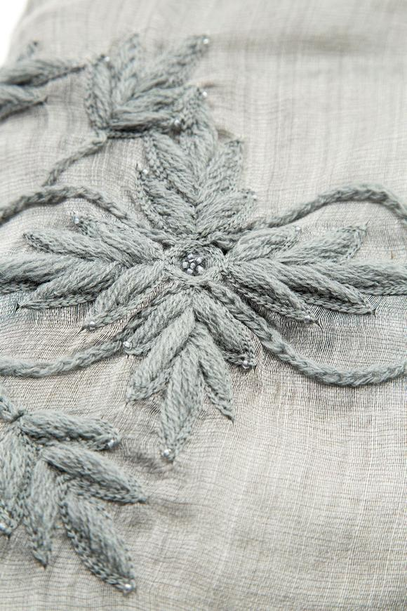 Embroidered Şal 55x180