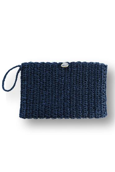 Nina Wicker Clutch