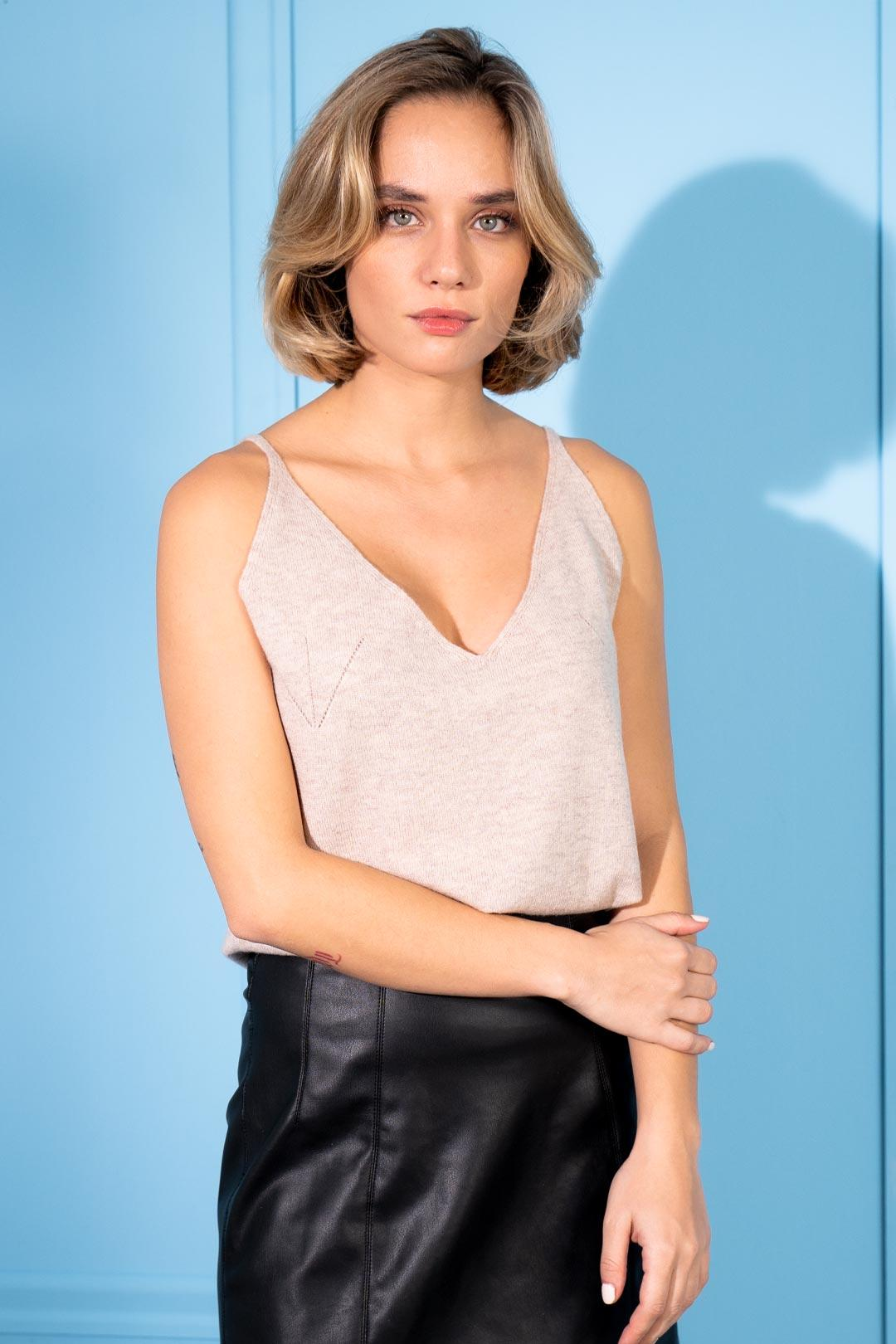 Cashmere and Wool Lana Camisole