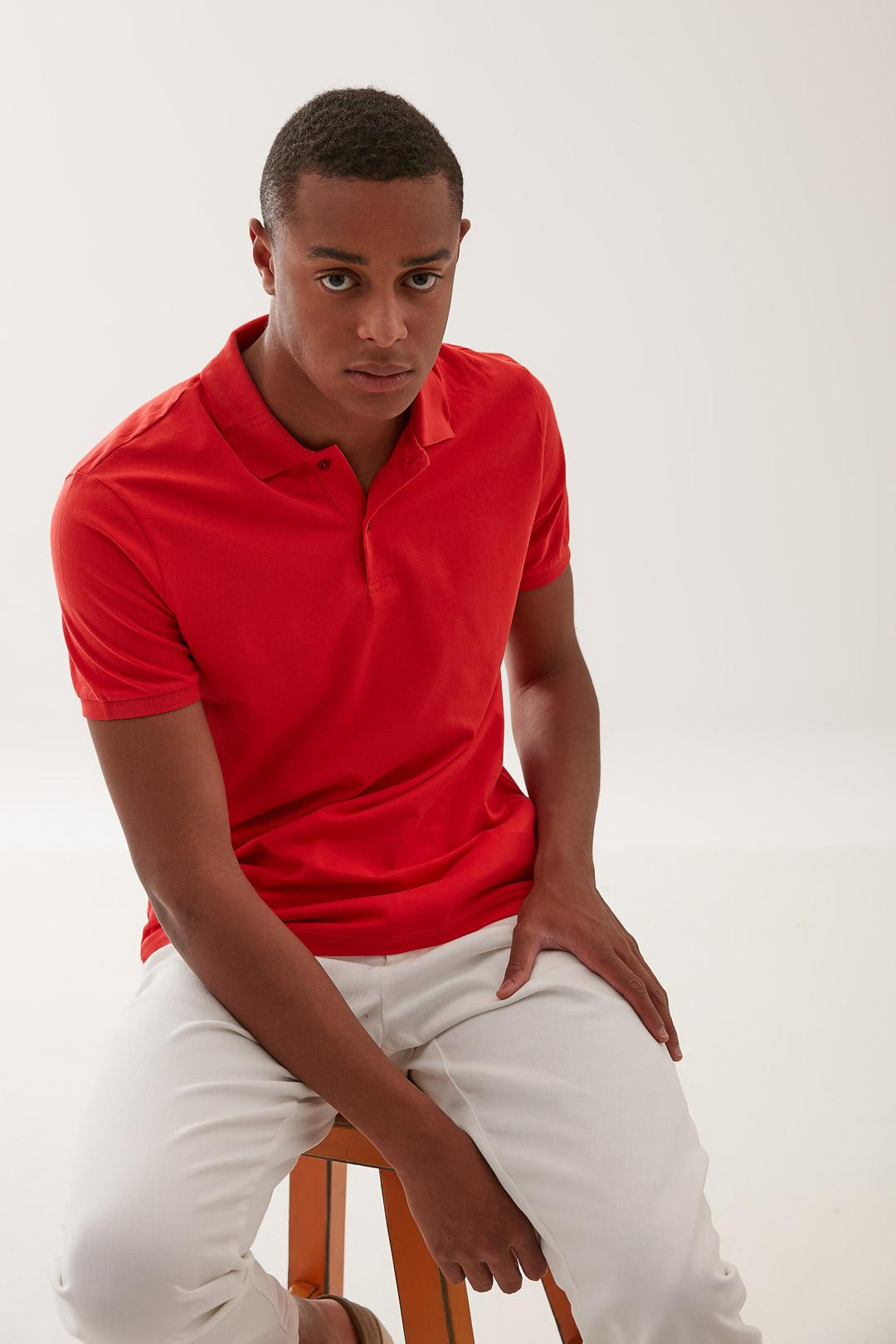 Jeff Solid Polo S/S T-shirt